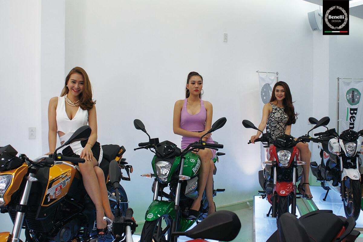 Benelli khai trương showroom  mới