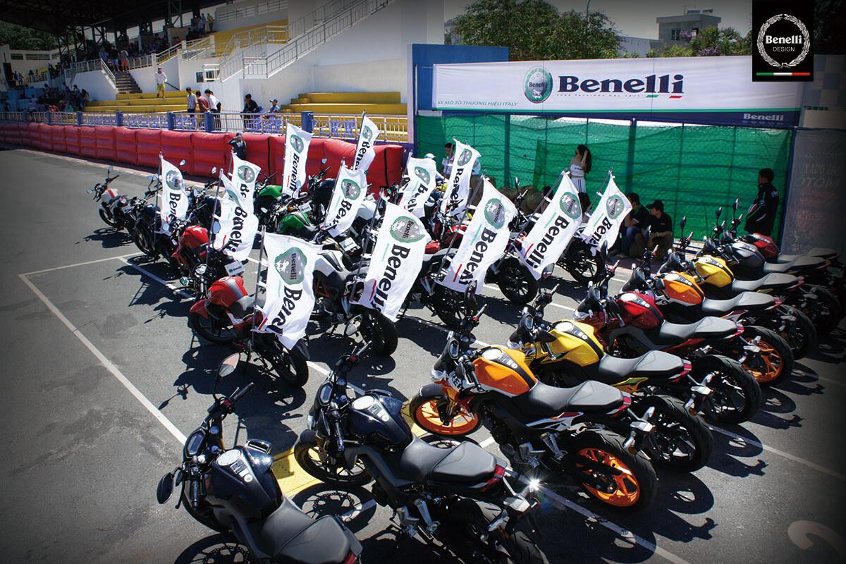 Benelli tại vòng 5, giải đua xe gắn máy cup quốc gia 2016