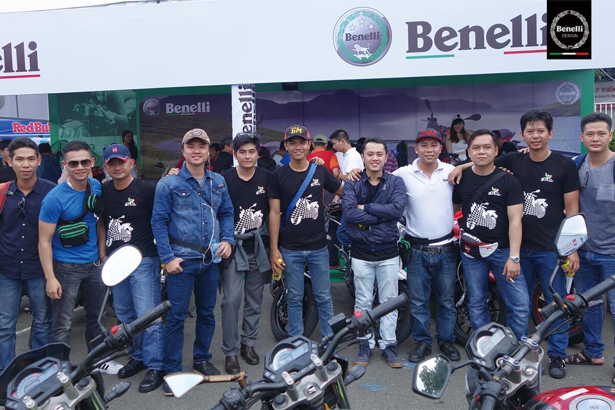 Benelli tại Việt Nam Motorbike Festival năm 2015