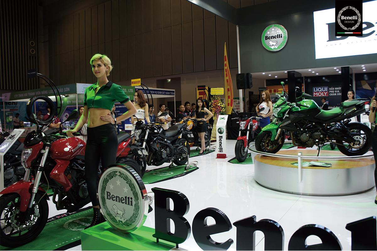Benelli tại triển lãm xe mô tô, xe gắn máy Việt Nam 2016