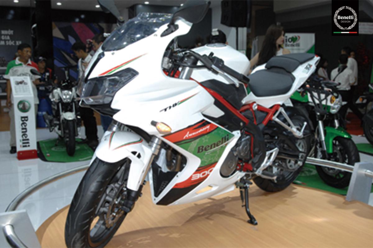 Benelli thêm phiên bản sportbike Tornado 302 tại Việt Nam