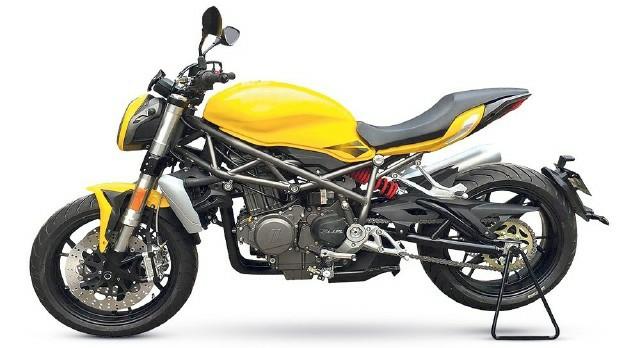 Hé lộ mẫu xe naked bike Benelli 750