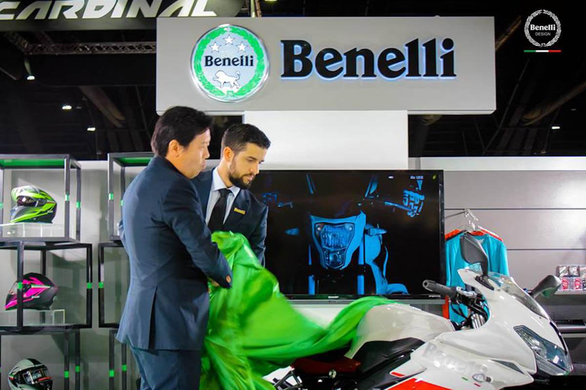 BENELLI tạiThailand International Motor Expo 2016