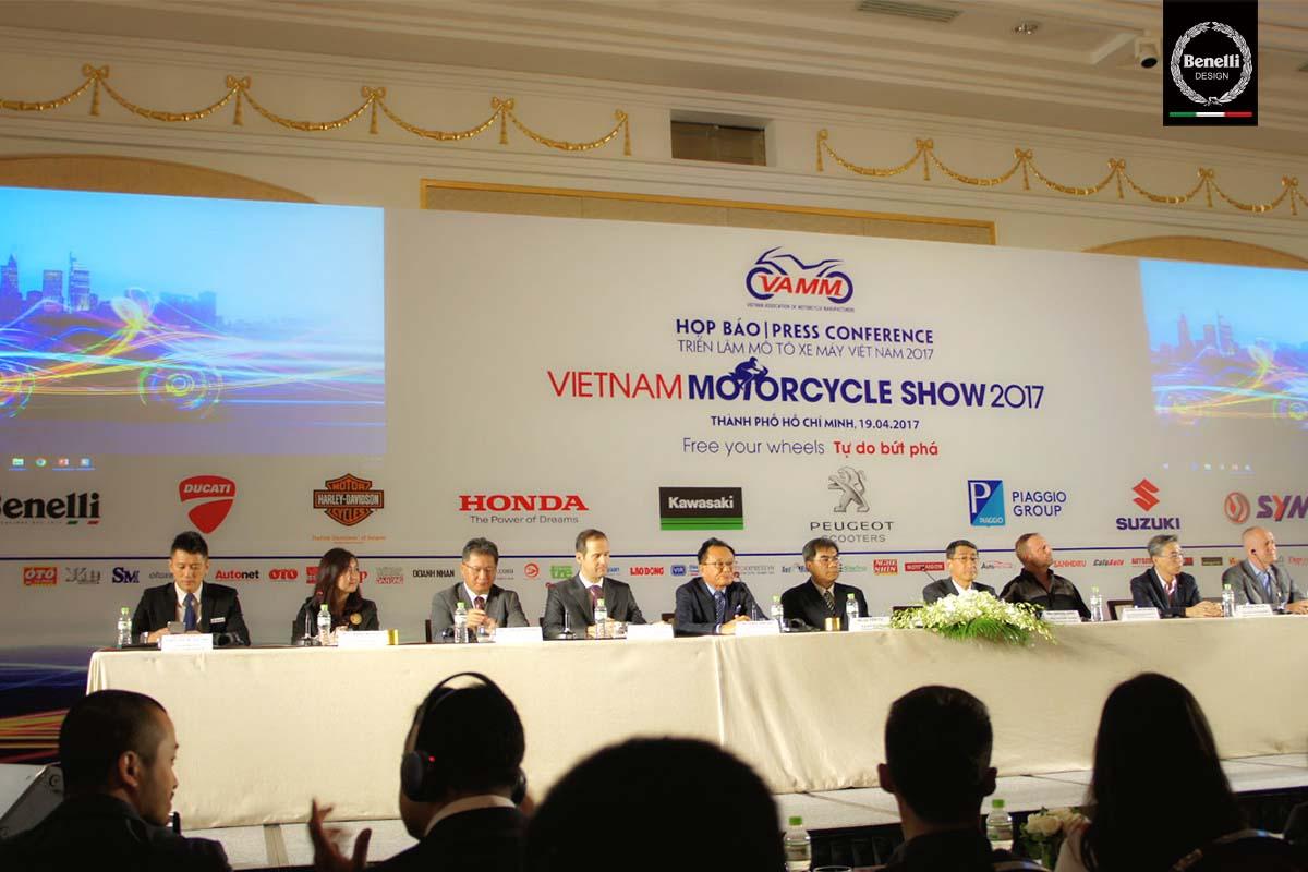 Benelli Việt Nam - Họp báo sự kiện Vietnam Motorcycle Show 2017
