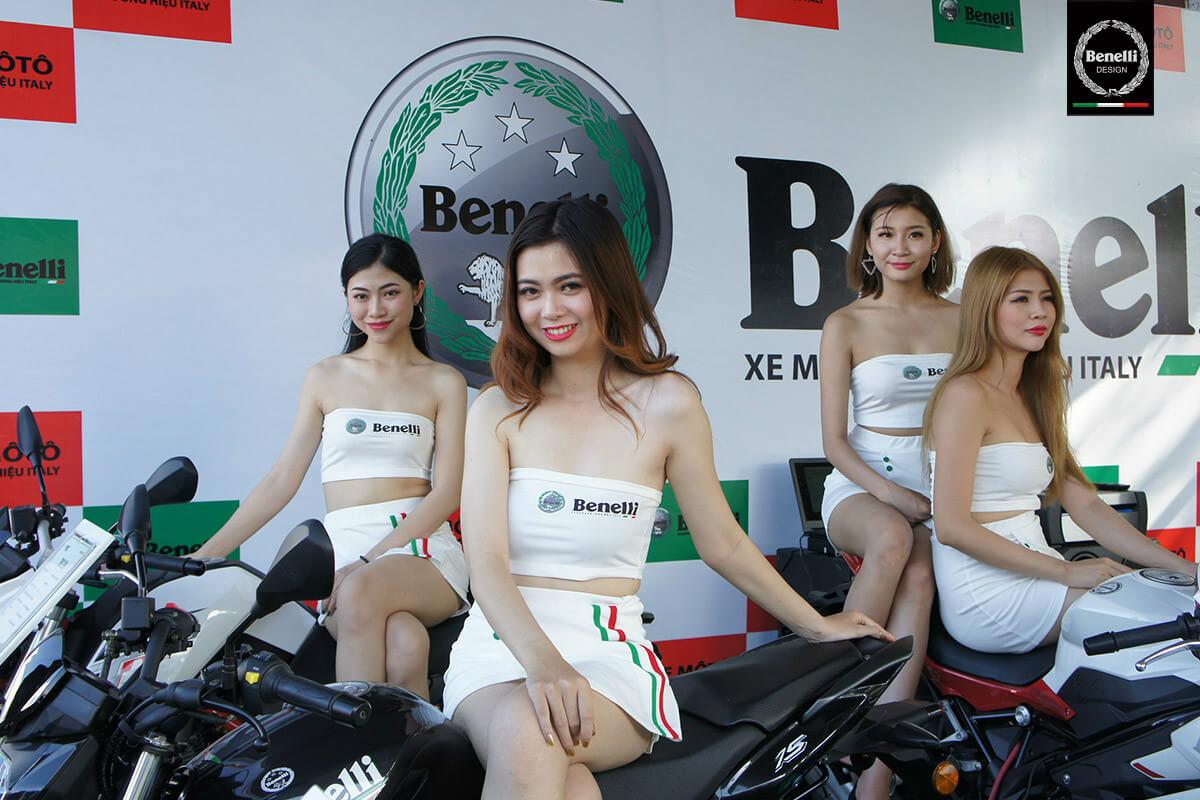 'Rực lửa' với giải đua xe Benelli Việt Nam tại Bà Rịa